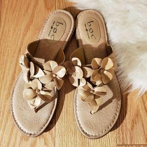 NWOT B.o.c. Born concept leather sandals,  10